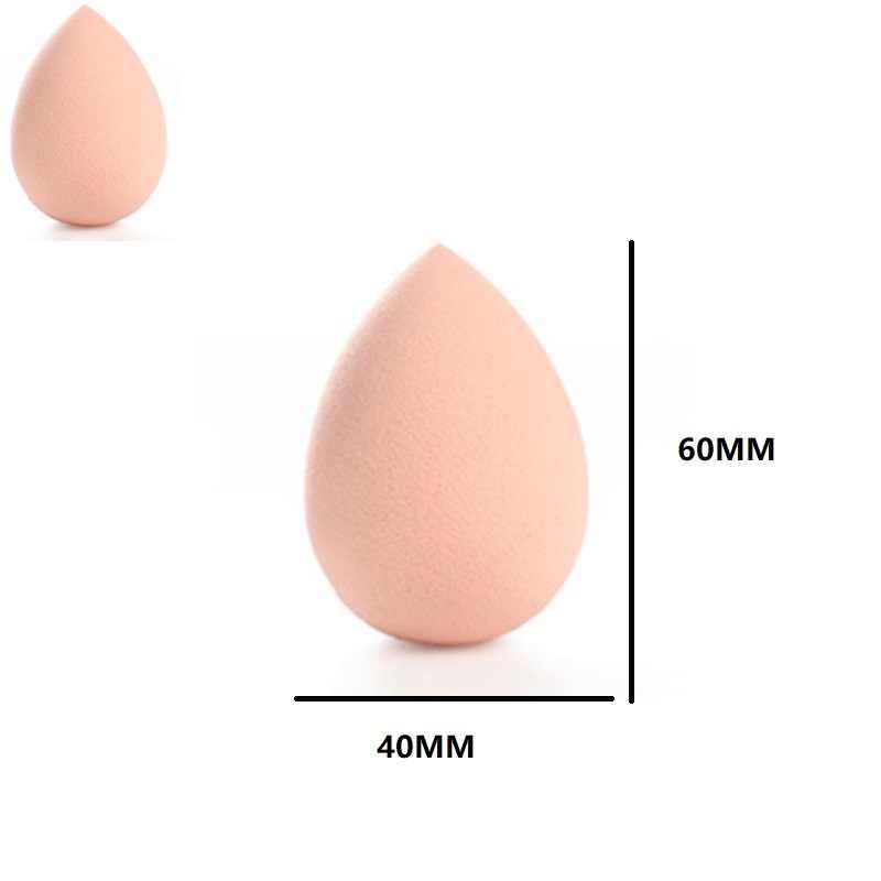 1pcs קוסמטיקה פאף אבקת נשיפת נשים של קרן איפור ספוג יופי איפור כלים אביזרי מים- זרוק צורת חם