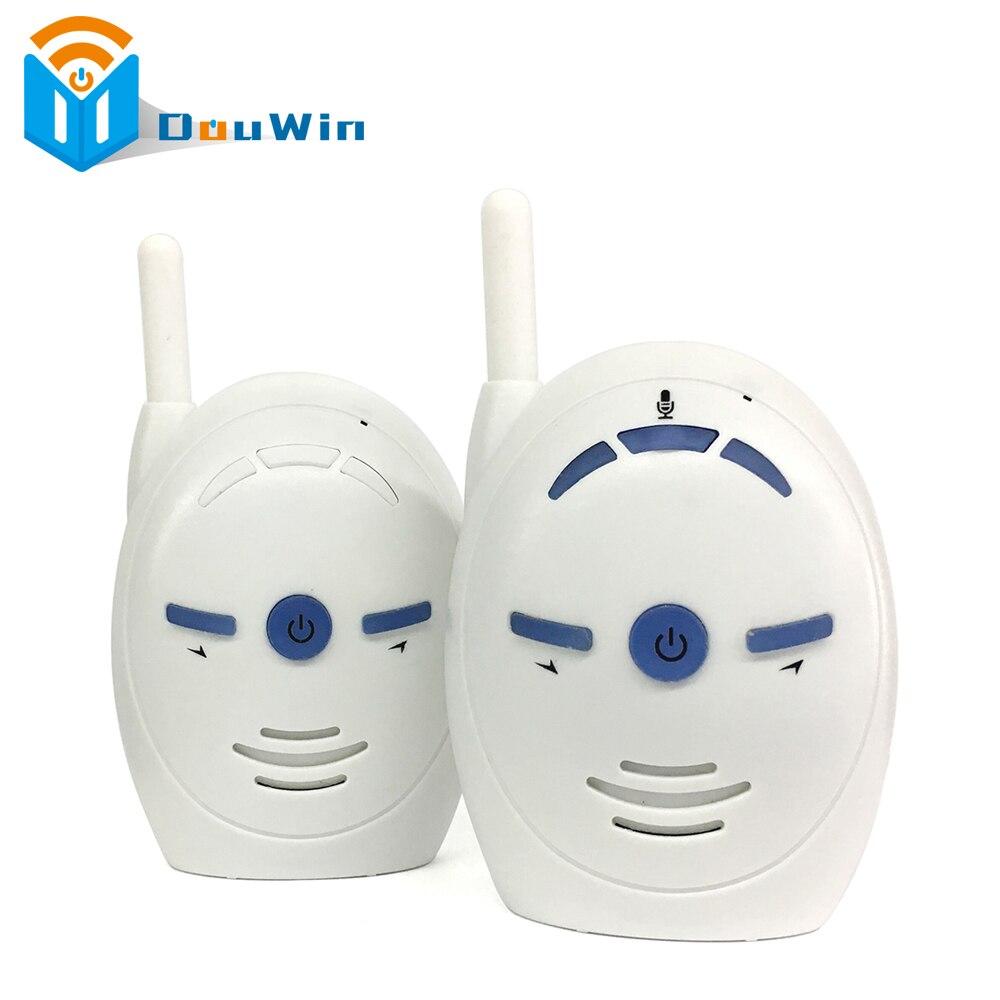imágenes para Monitor de bebé Digital de Audio de sonido bebé Alarma Del Teléfono color blanco tomar Kits buen cuidado Del Bebé Niños Intercomunicadores niñera