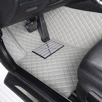Esteiras do assoalho do carro Para BMW F10 HLFNTF Personalizado F11 F15 F16 F20 F25 F30 F34 E60 E70 E90 1 3 4 5 7 GT X1 X3 X4 X5 X6 Z4 carro accessorie