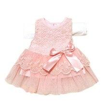 Unikids/Удобная детская одежда для девочек Кружево бантом платье с цветочным принтом принцессы Платья для женщин Формальное нарядное платье-пачка детская одежда