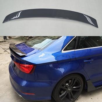 Alerón Trasero De Fibra De Carbono Modificado Exterior De Estilismo Para Coche Alerón Para Tapa De Maletero Decoración Para Audi A3 S3 RS3 Spoiler 2014-2017