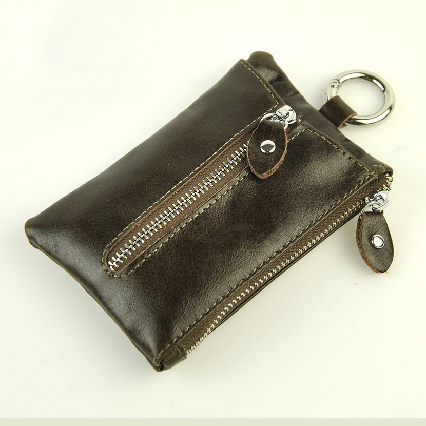 100/% Real Genuine Leather Pouch Purse Wallet Coins Key Accessories Jewellry