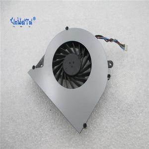 Image 1 - CPU Koelventilator Voor Toshiba C850 T03B T05B TOSHIBA L850 L850D C855 C855D laptop KSB0505HB BK48 4pin V000270070 6033B0028701