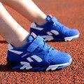 Nueva moda 2017 de los niños del ocio entrenador de ocio transpirable running shoes zapatillas de chicos de los niños niñas sport shoes tamaño 26-39