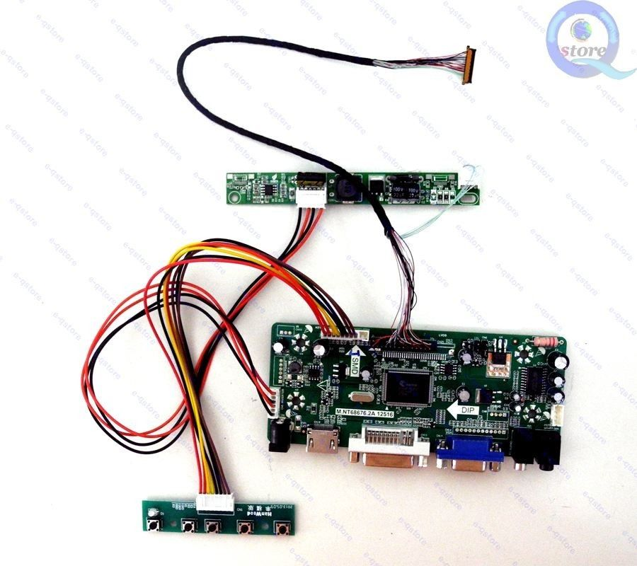 hdmi+dvi+vga+audio Professional Sale M.nt68676.2a Lcd/led Screen Controller Board Diy Monitor Kit For 17.1 1920x1200 Panel Lp171wu6-tla1 Without Return