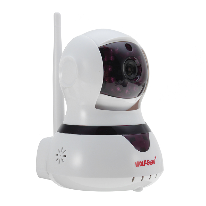 NEW WOLF-Guard YL-007W11 720P P2P Wireless Wifi IP Monitoring Camera With Alarm Function Night Vision Baby Monitor Home Security wolf 305528 w