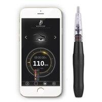 Biomaser Новый E008 приложение Smart телефон постоянный макияж комплект швейцарской мотор Роторного Татуировки татуировки поворотные ручки Smart Пит
