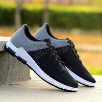 New men 's casual shoes lace fashion brand spring and summer shoes flat shoes men' s breathable shoes.