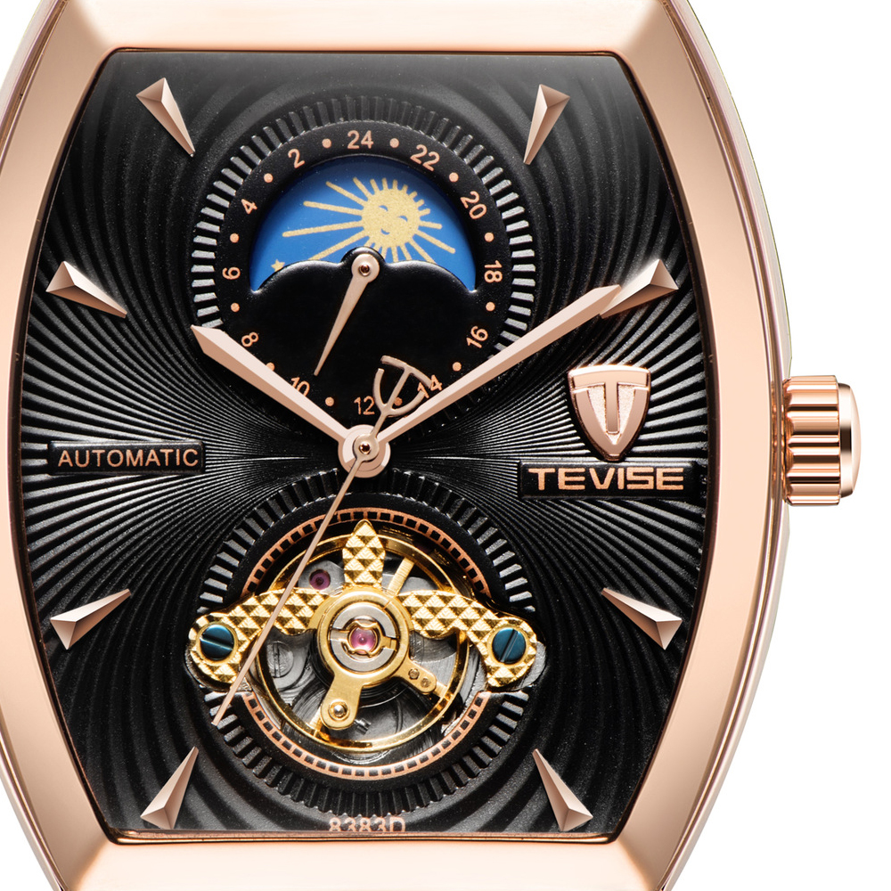 tevise moon phase watch men-6