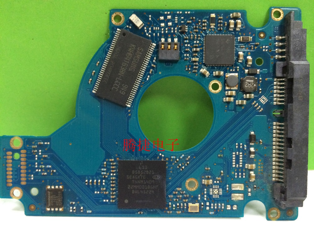 hard drive parts PCB board printed circuit board 100588580 REV A/B for Seagate 2.5 SATA hdd data recovery hard drive repair