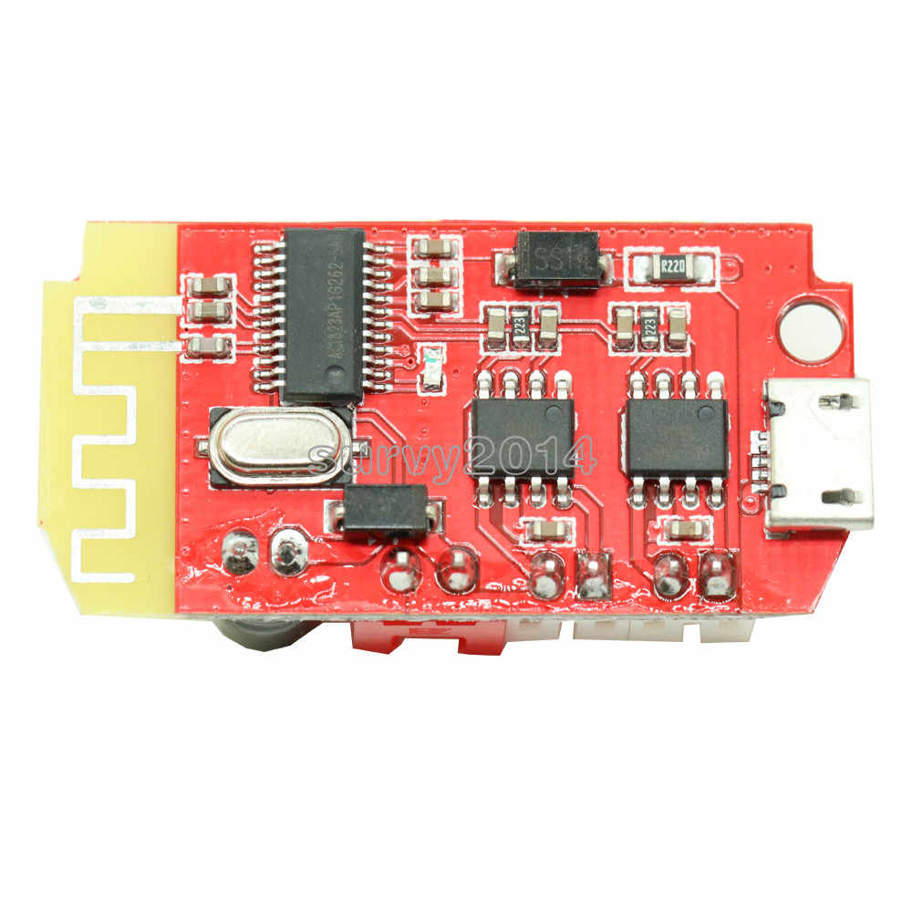 لوحة مضخم صوت رقمي ميكرو USB تيار مستمر 3.7 فولت 5 فولت 3 وات لوحة مزدوجة ثنائية ذاتية الصنع سماعات بلوتوث وحدة تعديل الصوت والموسيقى