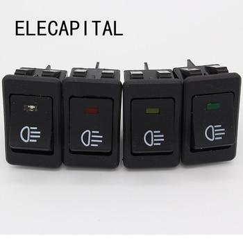 Universal Fog Light Lamp Rocker Switch LED For Car Truck Boat Dash Dashboard 12V 35A - sale item Electrical Equipment & Supplies