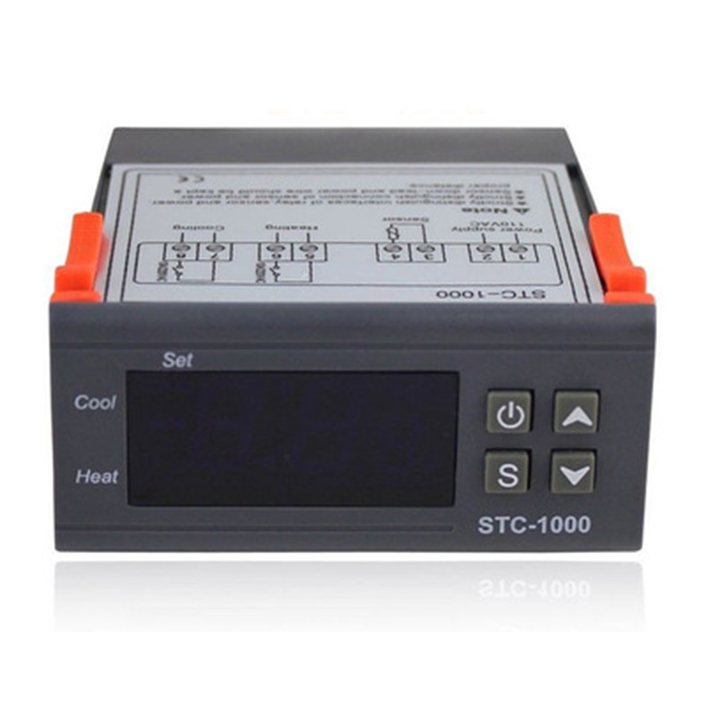 STC Thermostat Temperature Controller Convenient STC-1000 Durable Seafood Pool Seafood Machine Sensor stc 200