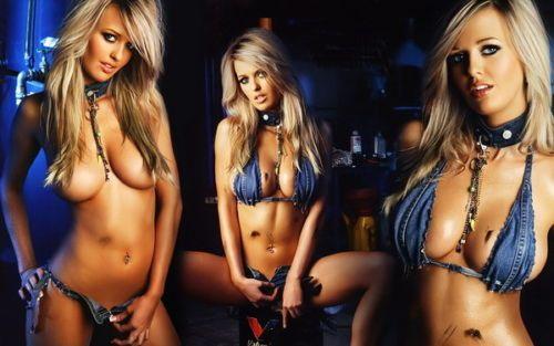 Bikini meisje hot babe vrouwelijke vrouwen schoonheid model zijde