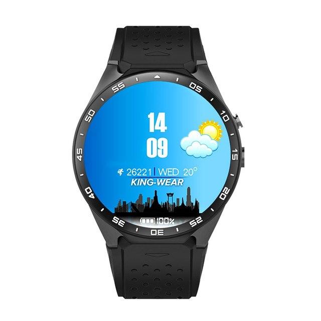 KW88 3 Г WI-FI Smartwatch Мобильный Телефон Все-в-Одном Bluetooth Смарт Смотреть Android 5.1 СИМ-Карты с GPS Камера Монитор Сердечного ритма