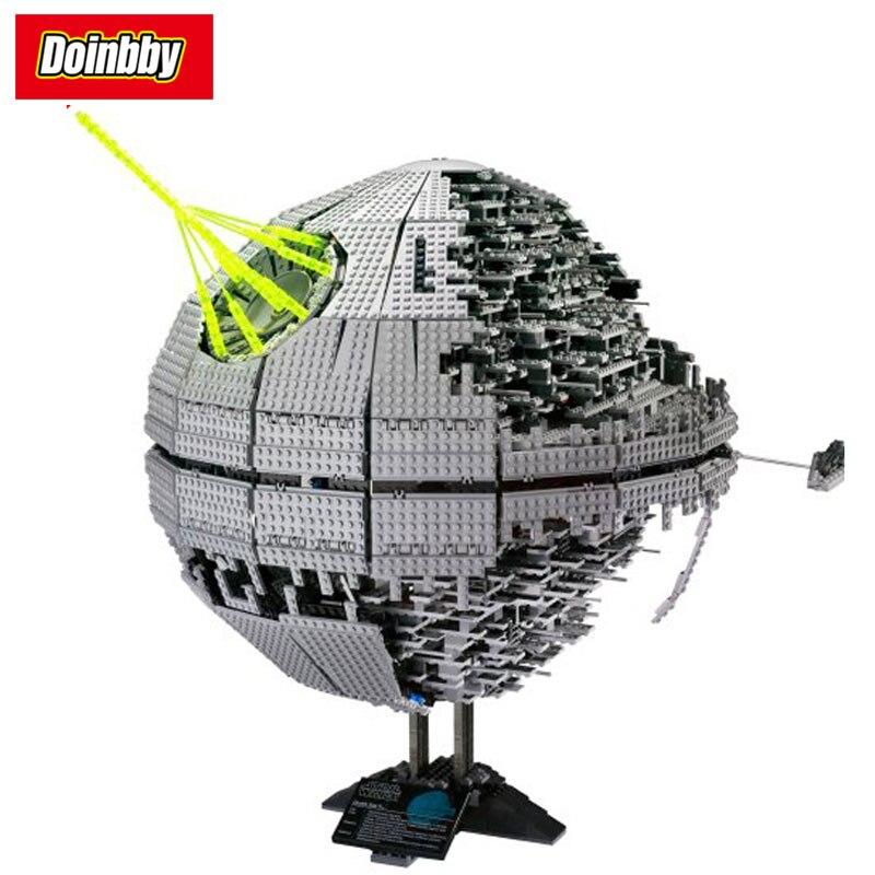 STAR classic Death Star la deuxième génération aventure bloc de construction briques jouets 3449 pièces Compatible avec Legoings Star Wars