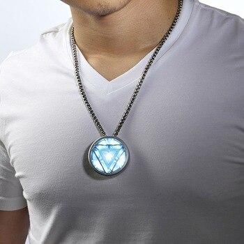 Avengers Iron Man Necklace Creativo Usb Flash Drive 64GB 128GB Pen Drive Flash Memory Stick Pendriver 512GB 1TB Mini Key Gift