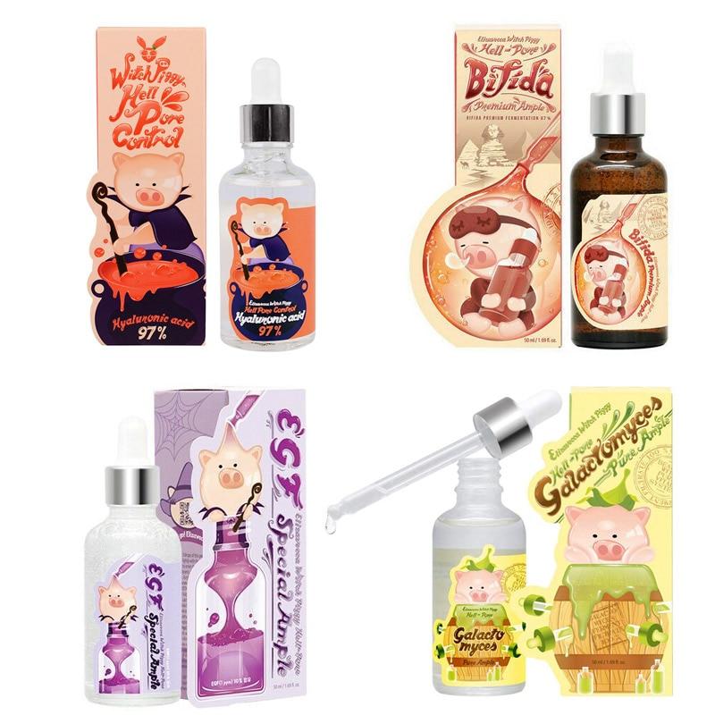 Elizavecca Hell Pore Control Hyaluronic/97% B-Jo/ EGF Special/ Galactomyces Acid Serum Moisturizing Anti-Wrinkle Pore Shrinkage