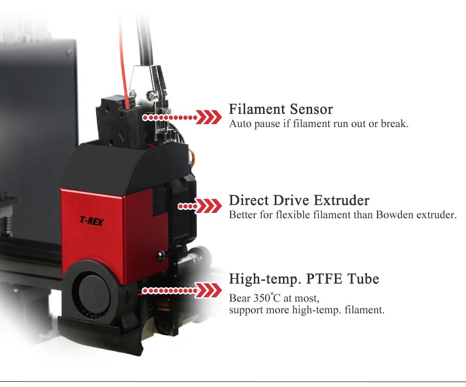 Vivedino T-Rex 3+ Large Format Multi-Function IDEX 3D Printer