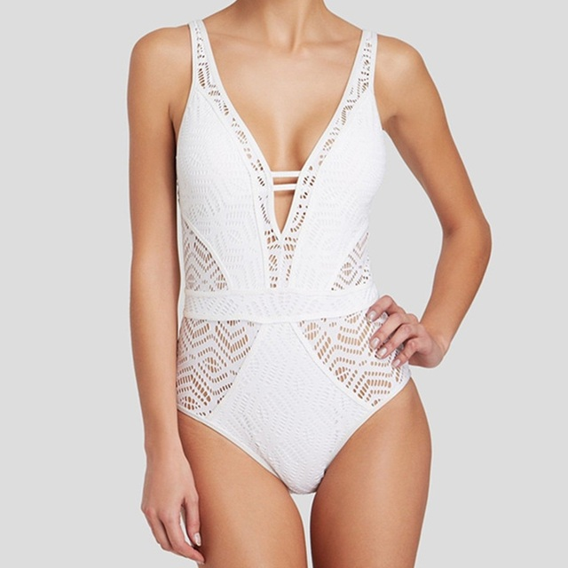 Sexy Lace One Piece Swimsuit