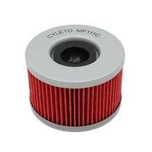3 pcs Cyleto CMX450C do Filtro de Óleo Para HONDA CMX 450 REBEL 450 1986 1987 CB 250 CB400 CB250 CB 400 1982-1984 CX500 CX 500 1978-1984