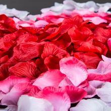 1000pcs 10 Packs Artificial Rose Petals Wedding Decorations Party Festival Table Confetti Decor Flower Petal