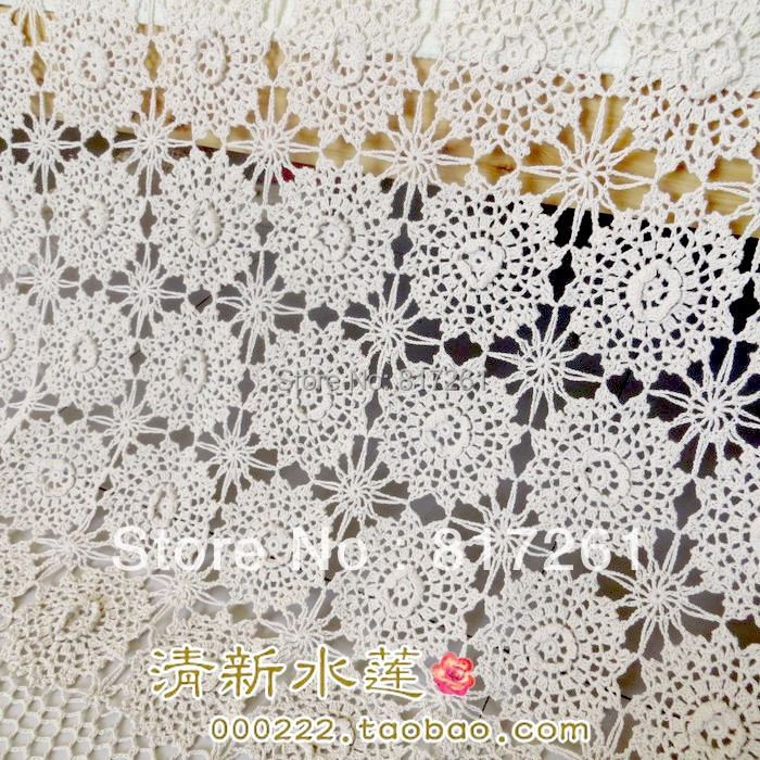 Have An Inquiring Mind Zakka 2014 New 3d Flowers Bed Sheet For Home Decoration Tablecloth Table Runner Crochet Lace Bed Cover Curtain To Be Highly Praised And Appreciated By The Consuming Public Furniture