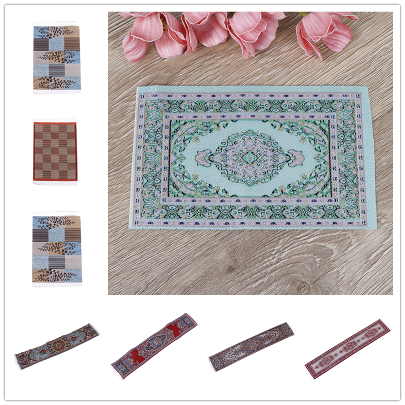 1/12 Scale Dolls House Any Rooms Miniature Accessories  Furniture Decor Dollhouse Area Rug/Carpet/Mat Floor Coverings