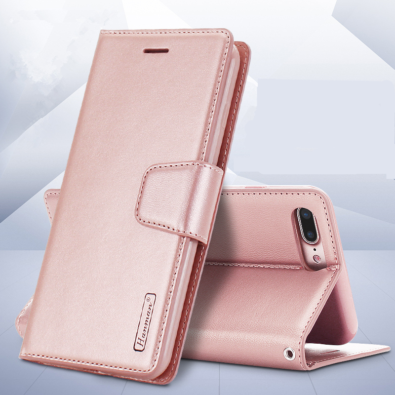 For iphone X 7 7Plus Magnetic buckle PU leather Wallet case For iphone SE 5 5s 6 6sPlus 8 8Plus Flip Cover Card Holder