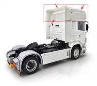 Tamiya по супер скидке грузовик прицепа автобуса scania highline крыши оболочки тела наборы для 1/14 весы Радиоуправляемый трейлер scania R620 56323 R730 седельн
