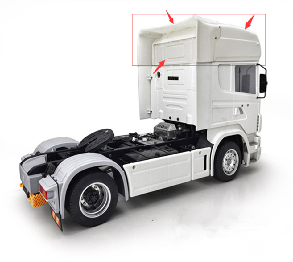 Fit for Tamiya 1//14 Scania RC Truck Remote Control Seat Chassis Upgrade Parts