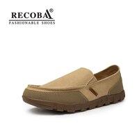 Men Summer Casual Shoes Plus Size 11 12 Beige Breathable Canvas Flat Shoes Mens Slip On