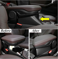 Insert Armrest Box For BMW X1 F48 2016 2017 LHD Central Console Storage Container Organizer Tray ABS Black