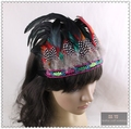Fashion Raves Indian Style Feather Headdress Festival Hair Accessories Feather Headband For Girl