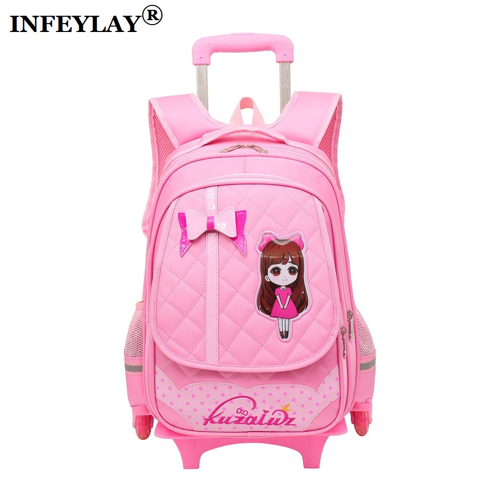 Brand Cartoon trolley case Climb the stairs school bag children students Detachable suitcase waterproof backpack travel luggageBrand Cartoon trolley case Climb the stairs school bag children students Detachable suitcase waterproof backpack travel luggage