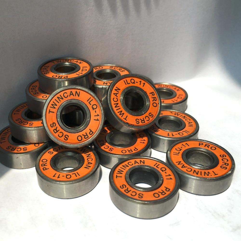 Prix pour 16 pcs/lot de patinage twincam qil-11 miniature à billes radial à billes pour skate chaussures accessoires abec-11