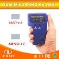 Escritor Leitor RFID portátil 125 KHZ RFID Copiadora Duplicadora Para Cartão de IDENTIFICAÇÃO + 5 pcs T5577 Cartão e + 5 pcs EM4305 Cartão