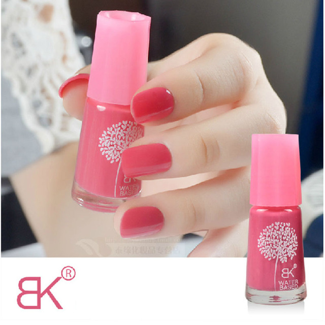 Water Base Peel Off Nail Polish Smell Faint Fragrance Nail Art Varnish Health Non-toxic Suitable For Pregnant Women And Girl