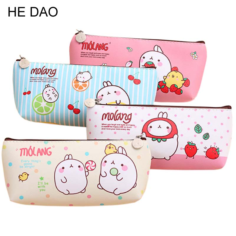 Pencil Case Pencilcase Supplies Box Pouch Pen Boxes For School Kids Kawaii Pencil Cases Pouch Pen Bag To School Canvas Bags New new cute beautiful world canvas pencil case kawaii kids girl pencil bag pen bag pouch student school supplies stationery gifts