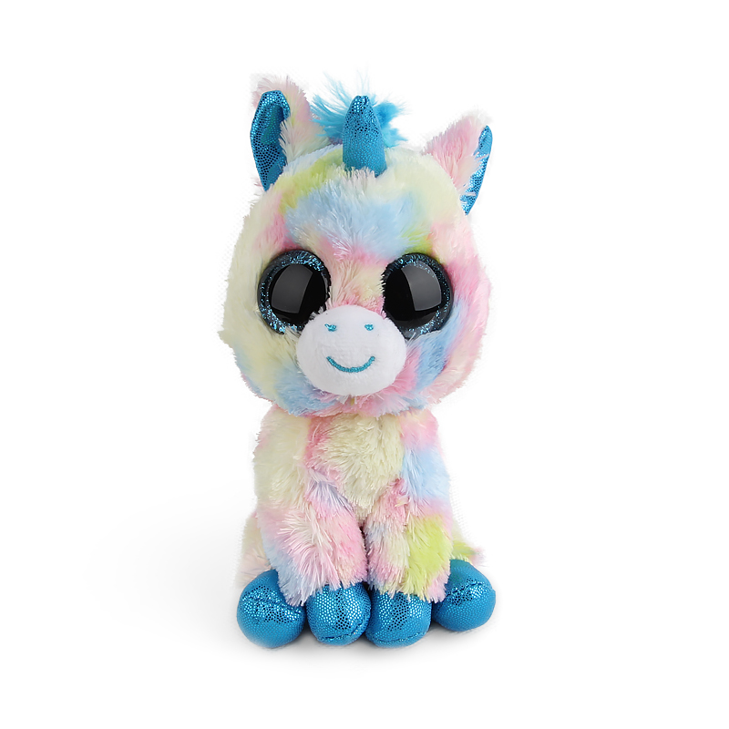"""Ty Vaias Pyoopeo Cap 6 """"15cm Scares Black Cat unicorn Plush Stuffed Animal Collectible Doll Doll Large Eyes Dolls Puppy Toys"""