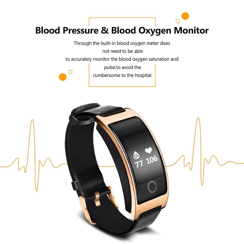 VERYFiTEK CK11S Fitness Bracelet Blood Pressure Smart Wristband heart rate monitor pulsometer Bracelets for xiomi pk fit bit in Smart Wristbands from Consumer Electronics