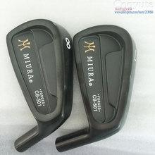 New Cooyute Mens Golfhuvuden MIURA CB-501 FORGED Black Golf Irons huvuduppsättning 4-9.P Golfklubbar head noirons shaft Gratis frakt