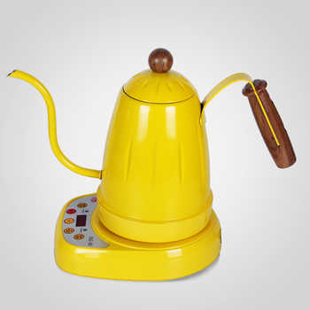Bouilloire à eau numérique et électrique 220vElectric   Bouilloire à col de cygne/électrique à température Variable Pour le café et le thé