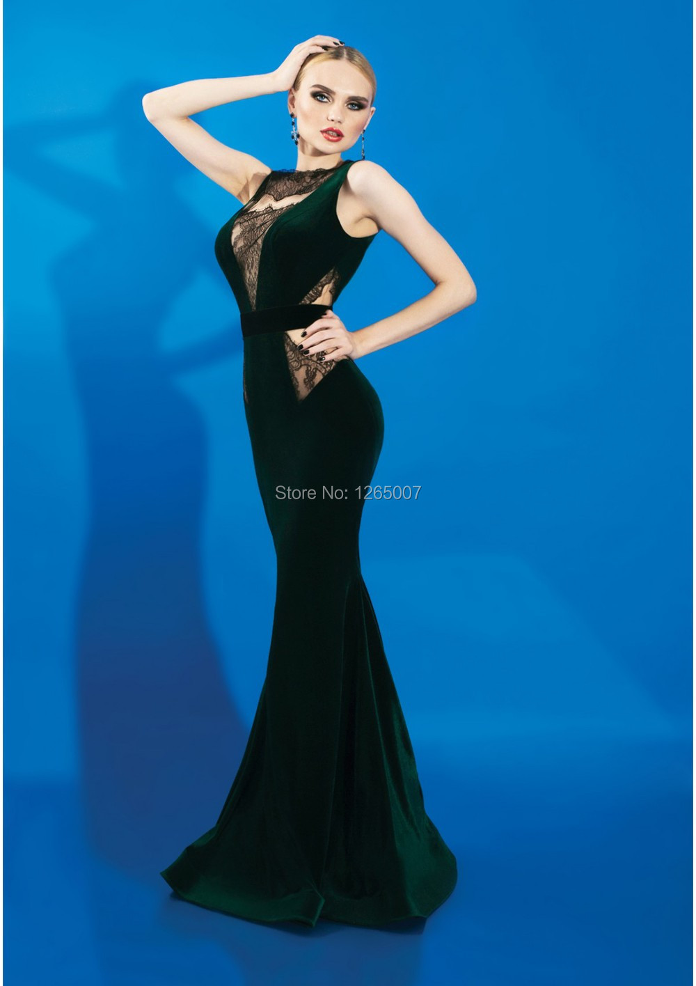 Popular Green Mermaid Dress-Buy Cheap Green Mermaid Dress lots ...