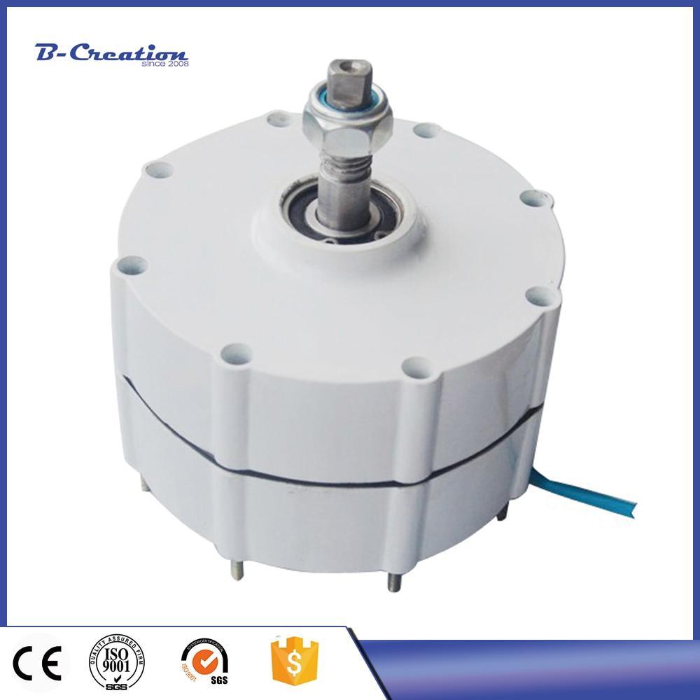 Alternateur à ca de générateur d'aimant Permanent de 400 W 12 V ou 24 V pour l'éolienne verticale ou horizontale générateur de vent de 400 W