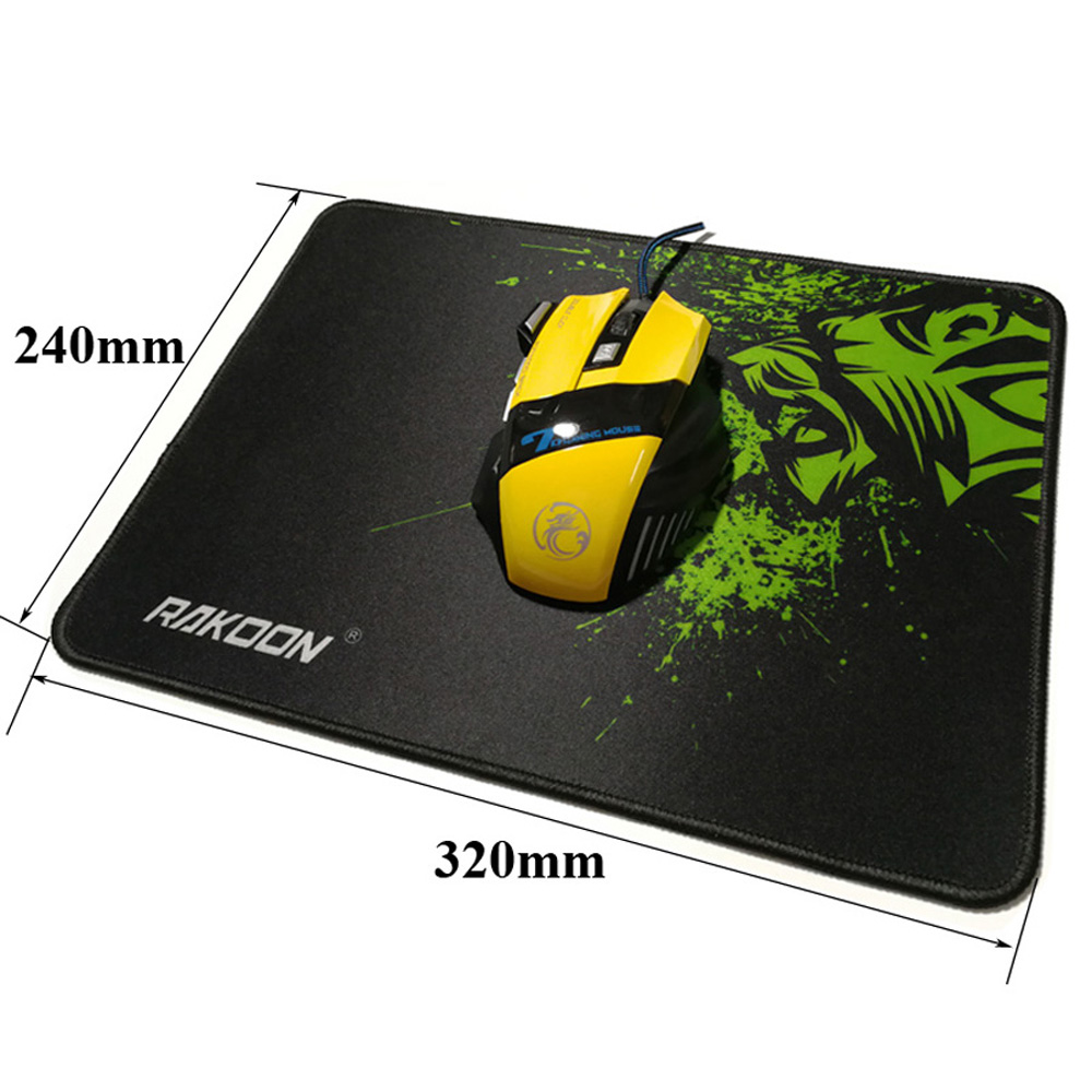 NEW Mousepad tappetino 32x24cm tappeto gaming mouse nido ape laptop game PC
