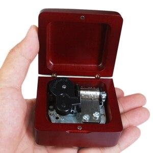 Image 4 - Sinzyo boîte à musique en bois marin fait à la main, boîtes à cadeaux danniversaire pour noël/anniversaire/saint valentin