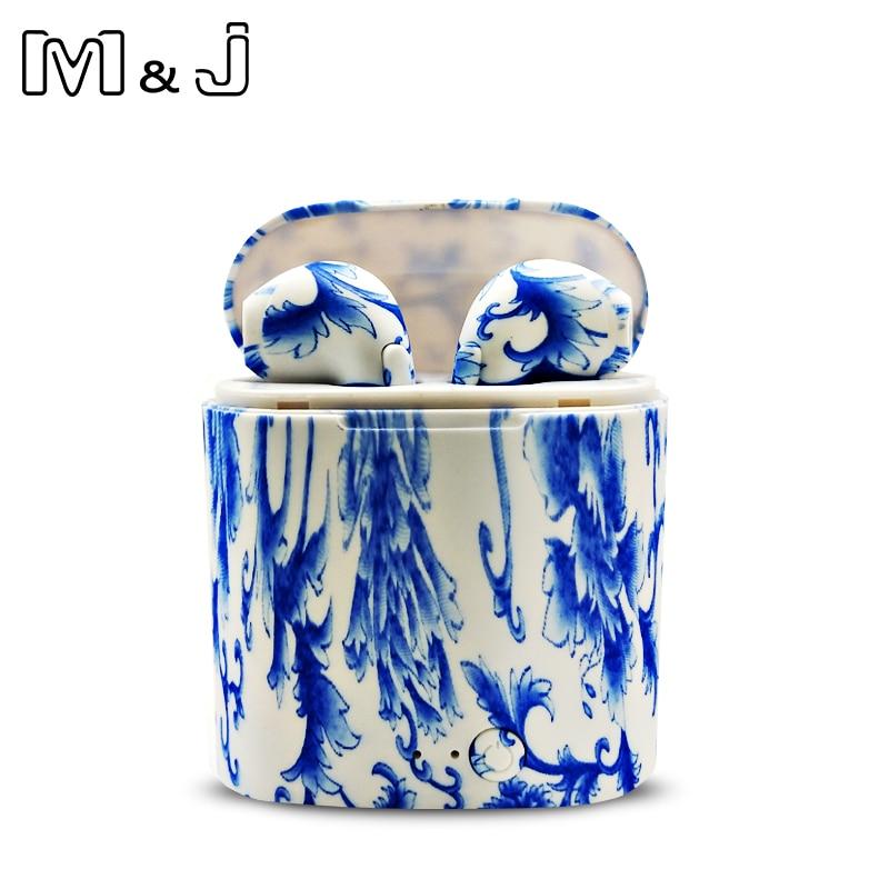 M&J I7S TWS Camo Earbuds Wireless Bluetooth Double Earphones All Bluetooth Mobile 14