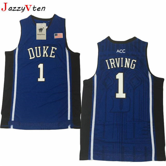 795f26466dc ... denmark jazzyvten 1 kyrie irving jersey duke 4 redick throwback jersey  retro basketball jersey new a37f0