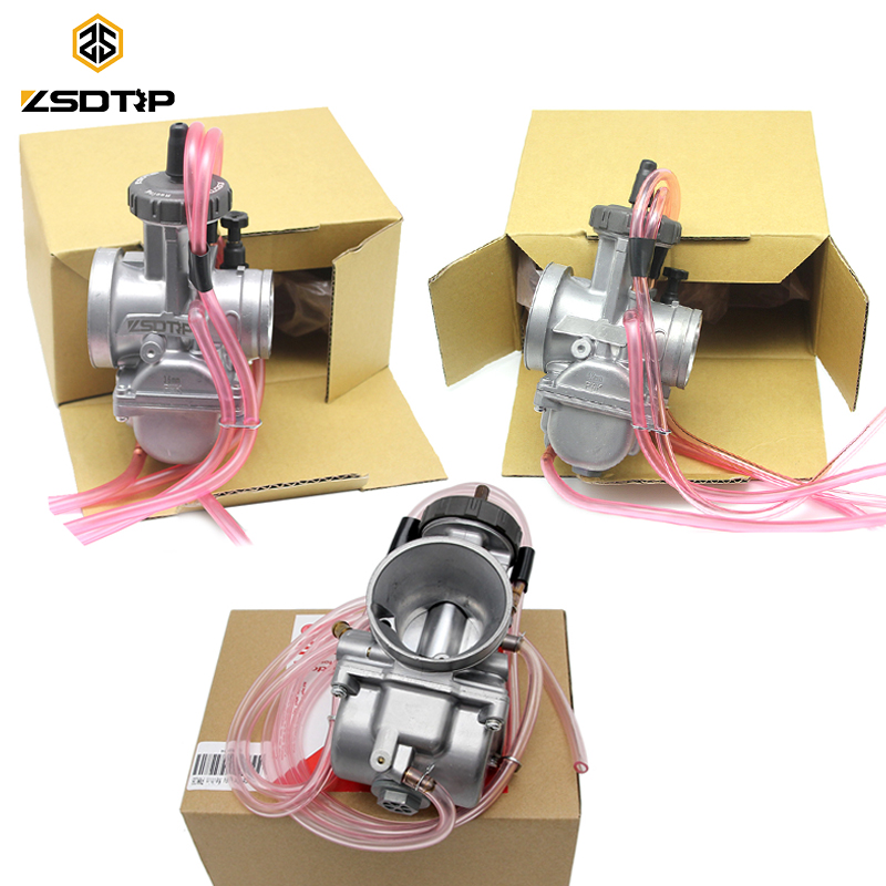 ZSDTRP 4T Engine 33 34 35 36 38 40 42mm PWK Keihin Carburetor Used at Off-road Racing Motor Motocross Scooter with Good Power цена